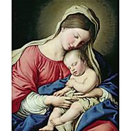 Onderwerp canvas soort kunstenaar product madonna houdt jesus