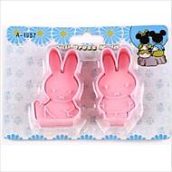 cartoon diy zábava Miffy králík fondant dort cookie cutter forma