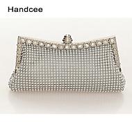 Handcee® Women Fashion Beaded Clutch Evening Bag