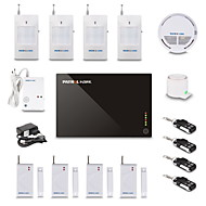 GSM Home Alarm System Kit (Support iOS og Android Application)