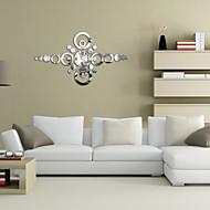 Mirror Wall Stickers Wall Decals,  Clock DIY Circle Mirror Acrylic Wall Stickers