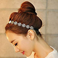 Alloy Hollow Rose Headband