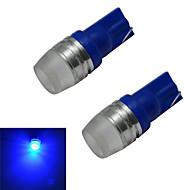 2 kpl T10 1.5 W 1 Teho-LED 90lm LM Sininen Sisustusvalaisimet DC 12 V