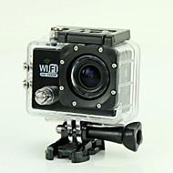 """est sj6000 1080p 2.0 """"camera camma azione esterna di 170 gradi grandangolare macchina fotografica digitale di sport mini videocamera (nero)"""