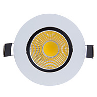 Bestlighting 9 W 1 COB 800-900 LM K Warm White/Cool White Rotatable Dimmable Recessed Lights AC 220 V