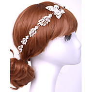 Women Alloy/Resin Headbands With Rhinestone Wedding/Party Headpiece