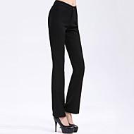 Pantalon Aux femmes Costume Travail Coton/Polyester Micro-élastique