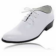Men's Shoes Wedding/Office & Career/Party & Evening Leather Oxfords Black/Blue/Yellow/Green/Red/White/Orange