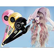 Pro Professional Salon Perfect Titanium Automatic Magic electric LCD Curler Hair Curls Curling Iron