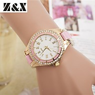 Women's Fashion Diamond Roma Number Quartz Analog Sillicon Watch(Assorted Colors) Cool Watches Unique Watches