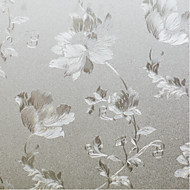 Country Fancy Blooming Flowers Window Film W0.9m x L5m