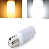 1 pcs E27 12 W 48LED X SMD 5730 1600 LM 2800-3500/6000-6500 K Warm White/Cool White Corn Bulbs AC 220