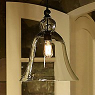 MAX:60W Pendant Light ,  Country Painting Feature for Mini Style Glass Bedroom / Dining Room / Study Room/Office / Entry / Hallway