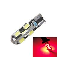 Car Modification Accessories  T10 2W LED Red Light Fog Light Brake Light Reversing Light (12V) (2PCS)