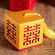Geschenk Schachteln ( Gold/Rot , Kartonpapier ) - Nicht personalisiert - Hochzeit/Brautparty