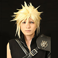 angelaicos uomini Cloud Strife golden boys final fantasy vii breve strato prestyled halloween costume parrucche cosplay