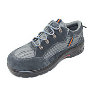 Men's Safety Shoes Outdoor Calf Hair Oxfords with steel toe