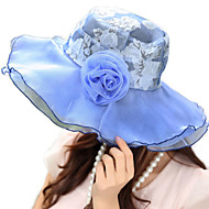 Women Polyester Floppy Hat , Cute/Casual Summer