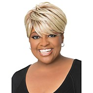 Human Hair African American Style  Short Curly Mono Top  Human Hair  Wigs 12 Colors to Choose