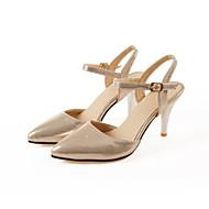 Wedding Shoes - Saltos - Bico Fino - Azul / Vermelho / Prateado / Dourado - Feminino - Casamento