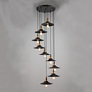 MAX:60W Luzes Pingente ,  Rústico Pintura Característica for Estilo Mini MetalSala de Estar / Quarto / Sala de Jantar / Quarto de