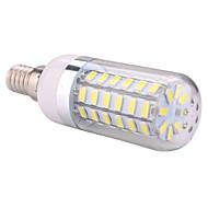 E14  12W 56x5730SMD 1200LM 2800-3200K /6000-6500K Warm White/Cool White Light LED Corn Bulb  (AC 110-130V/AC 220-240V)