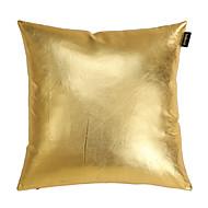 modern soild guld denim dekorativa kuddöverdrag