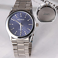 Personalized Gift Casual Watch Steel Strap Engraved Watch