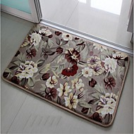Home Family  Flower Pattern Floor Slip-Resistant Set Bath Mats