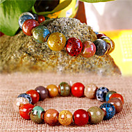Beautiful Ceramic Beads Bracelet(Multicolor)(1Pc)
