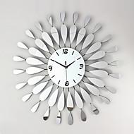 μοντέρνο στυλ πολυτελή καθρέφτη με σίδηρο σίγασης ρολόι τοίχου