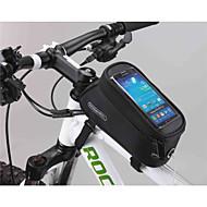 Bag quadro da bicicleta ( Verde/Vermelho/Azul , PVC/Tactel/Póliester 600D , 1.8 L)  Multifuncional Ciclismo