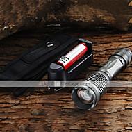 クリーXM-LのT6についての詳細は2200lm懐中電灯18650バッテリー+充電器+ホルスターを主導しました