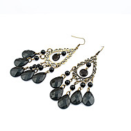 Women's European Style Fashion Bohemian Style Water Droplets Alloy Earrings