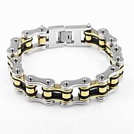 Ketten- & Glieder-Armbänder Armband Einzigartiges Design Modisch Schmuck Fahhrad Silber Farbbildschirm Schmuck Für Weihnachts Geschenke1