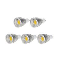 9W GU10 LED bodovky MR16 1 COB 750-800 lm Teplá bílá / Chladná bílá Stmívací AC 220-240 / AC 110-130 V 5 ks