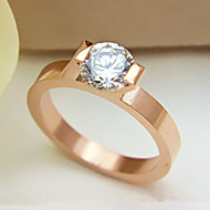 Hot Sale 18K Rose Gold Plated Never Fade 1CT SONA Simulate Diamond Ring Sterling Silver Jewelry Brand Quality Engagement