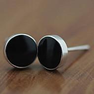 Unisex Silver Stud Earrings