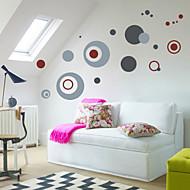 Adhesivos de pared de alta calidad del círculo de Morden decoración del hogar artes de la pared mural zooyoo7119 arte salón adhesivos