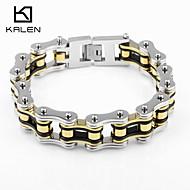 Kalen Men's Jewelry Stainless Steel Special Design Bike Chain Bracelets