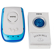 hoge kwaliteit nieuwste home security snoerloze / draadloze afstandsbediening deurbel 38 songs ons plug