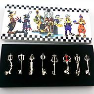 Kingdom Hearts Sora Key Pendant 8 Piece Suit Cosplay Necklace