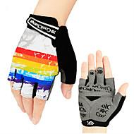 CoolChange® כפפות ספורט/ פעילות לגברים / כל כפפות רכיבה קיץ כפפות אופניים נגד החלקה / עמיד בפני שחיקה / לביש / פתיליות בלי אצבעותכפפות