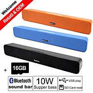 Subwoofer 2.0 Draadloos / Draagbaar / Bluetooth / Voor buiten / Voor Binnen / Docking-luidsprekers