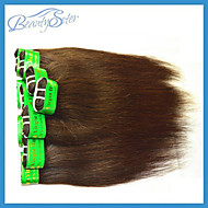 Wholesale Straight Indian Human Hair 3Kg 60Pieces Lot Grade5A Color Brown Real Human Hair
