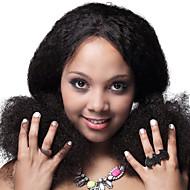 vv hår brazilian jomfru hår paryk naturlige sorte farve stort lager