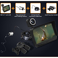 """4.3"""" Color LCD 600TV Lines Fish Finder HD Underwater Video Camera System"""