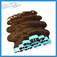 """2Kg Wholesale Combination Brazilian Human Hair Dark Brown Color Body Wave Style 14""""~22"""" Top TO Bottom Grade5A"""