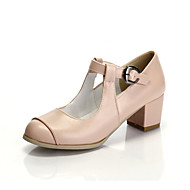 Girls' Shoes Casual Heels/Round Toe  Pumps/Heels Pink