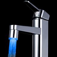 blå messing køkkenvask førte vandhane tap dyse